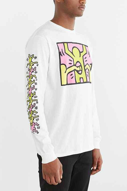 9a3c21f19c4e6 Junk Food Keith Haring Holes Long-Sleeve from Urban Outfitters