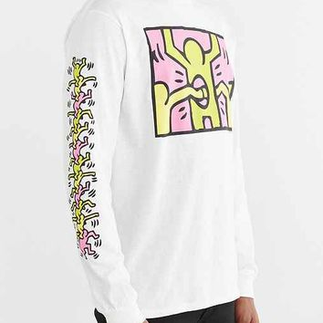 Junk Food Keith Haring Holes Long-Sleeve Tee