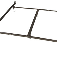King Metal Bed Frame for Headboard/Footboard