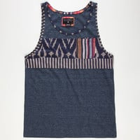 Billabong Mixer Mens Pocket Tank Indigo  In Sizes