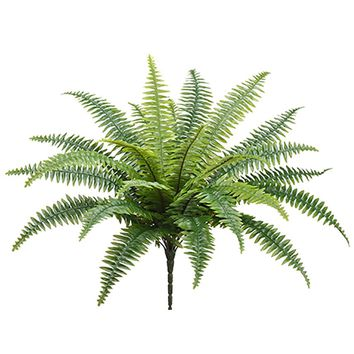 "Artificial Boston Fern House Plant - 26"" Tall"
