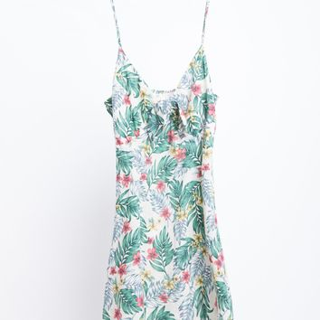 Plus Size Tropical Rainforest Dress