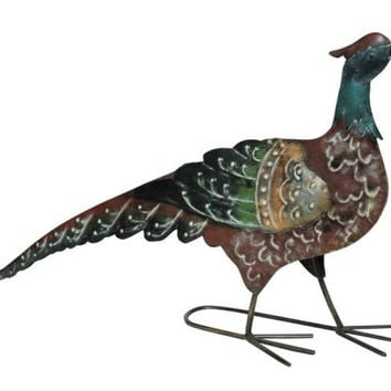2 Tabletop Decorations - Pheasants