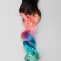 Urban Outfitters - Cotton Candy Ombre Clip-In Hair Extension