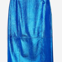 **Leather Pencil Skirt by Boutique | Topshop