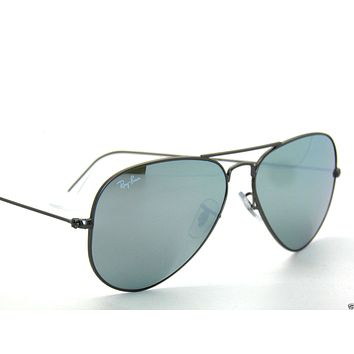 Cheap RAY BAN SunglaSSeS 3025 Rayban 029/30 Matte Gunmetal/Mir. ARISTA LARGE AVIATORS outlet