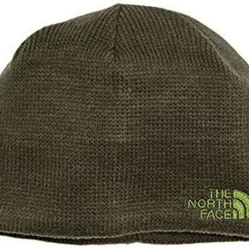 DCCKIJG The North Face Bones Beanie, Black Ink Green, One Size