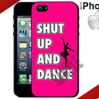 iPhone Case - Shut Up and Dance - iPhone 4 Case or iPhone 5 Case - Hard Plastic iPhone Case