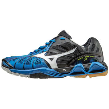 Mizuno Wave Tornado X Mens - Directoire Blue Black