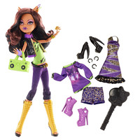 LicensedCartoons.com: Monster High Doll with Fashion Outfit - Clawdeen Wolf