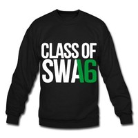 CLASS OF SWAG (2016) Green with no bands Sweatshirt | Spreadshirt | ID: 10919666