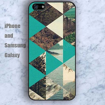 Prismatic mountain dust colorful iPhone 5/5S case Ipod Silicone plastic Phone cover Waterproof