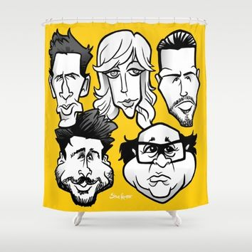 Sunny Philadelphia Shower Curtain by BinaryGod.com