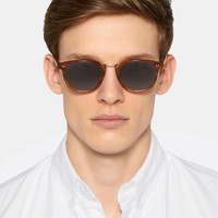 MR PORTER - + Cutler and Gross D-Frame Tortoiseshell Acetate Sunglasses