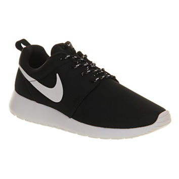 Nike Roshe Run Black White Volt - Unisex Sports