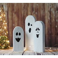 Halloween Ghosts, Rustic Halloween Decor