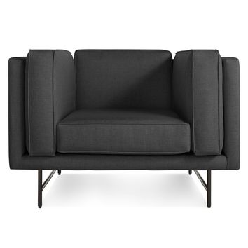 Blu Dot Bank Modern Upholstered Club Chair