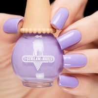 I Scream Nails Blackberry Mousse
