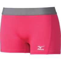 "Mizuno Women's 2.75"" Flat Front Low Rider Volleyball Shorts 
