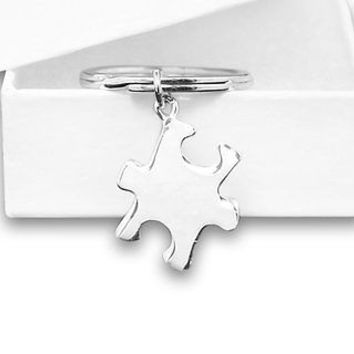 Autism Awareness Puzzle Piece Key Chain