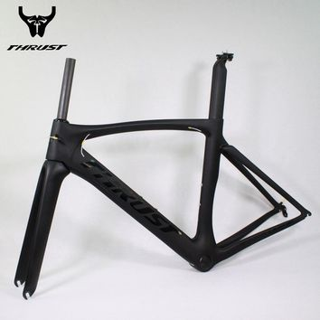 THRUST T1000 Carbon Frame Bicycle Carbon Road Frame 49 52 54 56 58