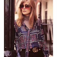 VLTN Women Casual Long Sleeved Shirt