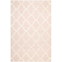 Safavieh CAM121M-3 Cambridge Light Pink and Ivory Rectangle: 3 Ft. In. x 5 Ft. In. Area Rug - (In Rectangular)