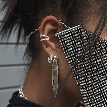 Blade Earrings
