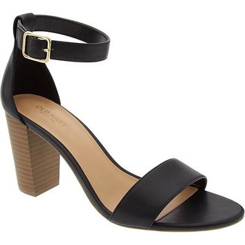 Old Navy Womens Block Heel Sandals