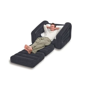 2 in 1 Pull-Out Dorm Furniture Lounger College Furniture Cheap Cool Stuff For Dorm Room Guests Seating