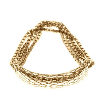 Gold By Boe Chainmail Ring