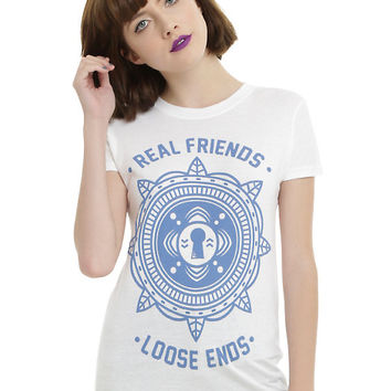 Real Friends Loose Ends Girls T-Shirt