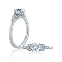 Browse A. Jaffe ME1754-55 Engagement rings | Golden Nugget Jewelers