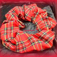 Red Plaid Infinity Scarf,Silky Red Plaid Scarf,Tartan Plaid Circle Scarf,Girls Teens Woman Fashion Scarves, Direct Checkout,Ready to Ship