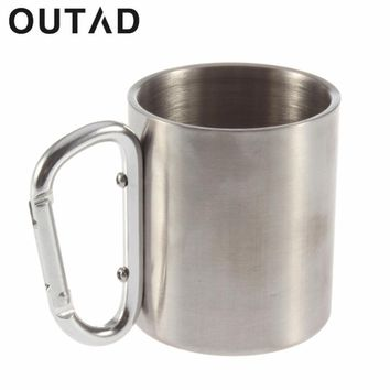 Get this FREE shipping Camping Traveling Steel Cup for Coffee, Tea, Beer Mug 180ml