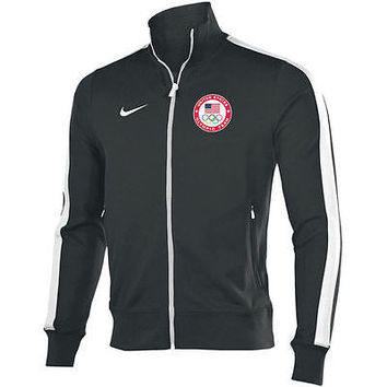 NIKE N98 USA OLYMPICS RIO 2016 TEAM  FULL-ZIP TRACK JACKET (L.XL)