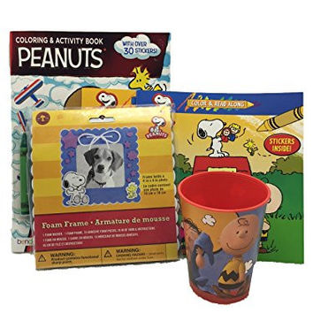 Peanuts, Snoopy, Charlie Brown, Lucy Character's Activity Bundle Set of 5