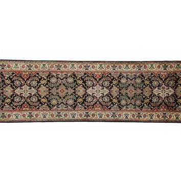 Polonaise Rug, Black/Cream, Area Rugs