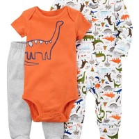 3-Piece Dinosaur Sleep & Play Set