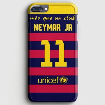 Neymar Jr Santos Barcelona Fc Jersey iPhone 8 Plus Case | casescraft