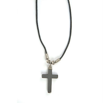 "*SIMPLE CROSS NECKLACE- 18""- SET OF 6"