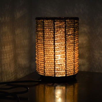 Woven Glass Beaded Accent Lamp