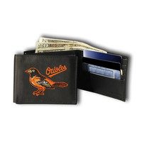 Baltimore Orioles MLB Embroidered Billfold Wallet