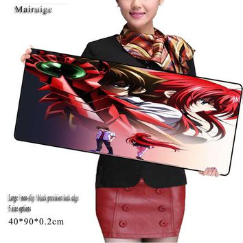 Mairuige 90*40cm Gaming Mouse Pad Large Cartoon Anime Rubber Mouse Pad Keyboard Mat Table Mat for Dota 2 CS Go