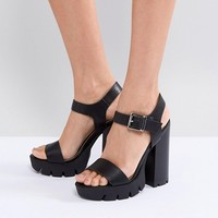 ASOS TARREN Platform Sandals at asos.com