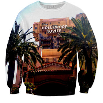 Disneyland Tower Of Terror Crewneck