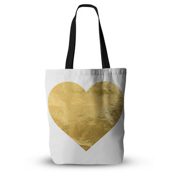 "KESS Original ""Heart of Gold"" Everything Tote Bag"