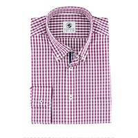 Goal Line Shirt in Purple Gingham by Southern Proper - FINAL SALE