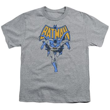 Batman - Vintage Run Short Sleeve Youth 18/1
