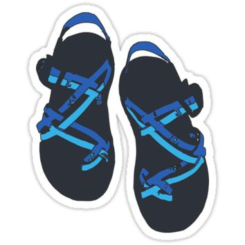 'Chacos' Sticker by aliciamo